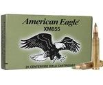 Federal Lake City Ammo 5.56x45mm M855 62 Grain Green Tip FMJ