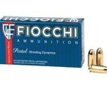 Fiocchi Shooting Dynamics 357 SIG Ammo 124 Grain Full Metal Jacket