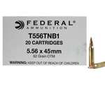 Federal Lake City 5.56x45mm Ammo 62 Grain OTM