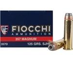 Fiocchi Shooting Dynamics 357 Magnum Ammo 125 Grain Semi JHP