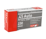 Aguila 45 ACP AUTO 230 Grain Full Metal Jacket