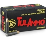 Tul Ammo 30 Carbine Ammo 110 Grain FMJ Steel Case
