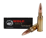 Wolf Gold 6.5 Grendel Ammo 120 Grain Multi Purpose Tactical