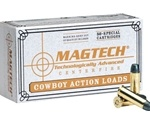 Magtech Cowboy Action 45 Long Colt 250 Grain Lead Flat Nose Ammunition