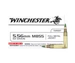 Winchester M855 Penetrator 5.56x45mm NATO 62 Grain Green Tip FMJ
