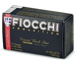 "Fiocchi High Velocity 12 Gauge 2-3/4"" #4 Nickel Plated Buckshot"