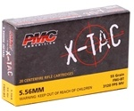 PMC X-Tac 5.56x45mm NATO 55 Grain Full Metal Jacket