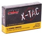 PMC X-Tac 5.56x45mm Ammo M855 62 Grain Green Tip FMJ