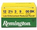 """Remington LE Reduced Recoil 12 Gauge 2-3/4"""" 00 Buckshot"""