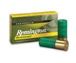 "Remington 12 Gauge Ammo 2-3/4"" #4 Buckshot 27 Pellets"