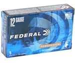 "Federal Power-Shok 12 Gauge Ammo 2-3/4"" 00 Buckshot 9 Pellets"