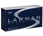 Speer Lawman CleanFire 40 S&W Ammo 180 Grain TMJ