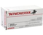 Winchester USA 223 Remington 45 Grain JHP VP