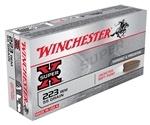 Winchester Super-X 223 Remington 55 Grain Pointed Soft Point