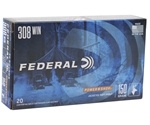 Federal Power-Shok 308 Winchester Ammo 180 Grain Soft Point