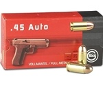 Geco 45 ACP Auto Ammo 230 Grain Full Metal Jacket