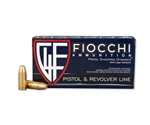 Fiocchi Shooting Dynamics 9mm Luger Ammo 158 Grain Subsonic FMJ