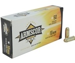 Armscor USA 10mm AUTO Ammo 180 Grain Full Metal Jacket