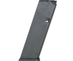 Glock G17 9mm Luger 10 Rounds Black Polymer Magazine