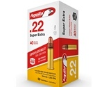 Aguila SuperExtra 22 Long Rifle Ammo 40 Grain HV Plated LRN