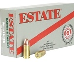 Federal Estate Range 9mm Luger Ammo 115 Grain Full Metal Jacket