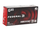 Federal American Eagle 45 ACP Ammo 230 Grain Full Metal Jacket