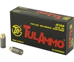 Tul Ammo 40 S&W 180 Grain FMJ Steel Case
