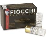 "Fiocchi High Velocity 12 Gauge 2-3/4"" Ammo 00 Nickel Plated Buckshot"