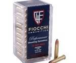 Fiocchi 22 WMR Ammo 40 Grain Jacketed Soft Point