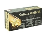 Sellier & Bellot 9mm Luger Ammo 115 Grain FMJ