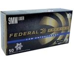 Federal Law Enforcement 9mm Luger Ammo 124 Grain HST JHP