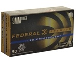 Federal Law Enforcement 9mm Luger Ammo 147 Grain HST JHP