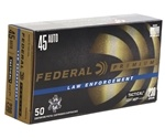 Federal HST LE 45 ACP AUTO Ammo 230 Grain Jacketed Hollow Point