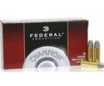 Federal Champion 38 Special Ammo 158 Grain Lead Round Nose