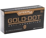 Speer Gold Dot LE Duty 40 S&W 165 Grain JHP