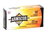 Armscor USA 22 TCM Ammo 40 Grain Jacketed Hollow Point