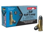 Aguila 32 S&W Long Ammo 98 Grain Lead Round Nose