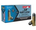 Aguila 32 S&W Long Ammo 98 Grain Lead Round Nose
