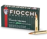Fiocchi Exacta 223 Remington Ammo 77 Grain Sierra MatchKing Hollow Point
