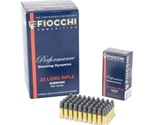 Fiocchi 22 Long Rifle Ammo 40 Grain Subsonic Hollow Point