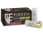 "Fiocchi Low Recoil 12 Gauge Ammo 2-3/4"" 00 Buckshot 9 Nickel Plated Pellets"
