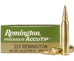 Remington Premier 223 Remington 55 Grain AccuTip