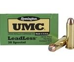 Remington UMC 38 Special +P Leadless 125 Grain JFNEB
