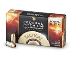 Federal LE 45 ACP 230 Grain Ammo Hydra-Shok Jacketed Hollow Point