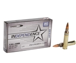 Federal Independence 5.56x45mm NATO Ammo 55 Grain Full Metal Jacket Boat Tail