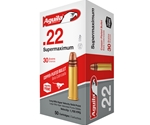 Aguila Super Maximum 22 Long Rifle Ammo Hyper Velocity 30 Gr PLRN