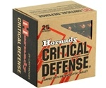 Hornady Critical Defense 30 Carbine Ammo 110 Grain FTX