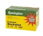 """Remington Express Value Pack 12 Gauge 2-3/4"""" 00Buckshot 9 Pellets"""