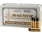 Magtech Cowboy Action Ammo 45 Long Colt 200 Grain Lead Flat Nose Ammunition