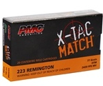PMC X-Tac Match 223 Remington Ammo 77 Grain OTM